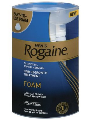 Rogaine Foam for Hair Loss Prevention